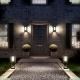 7086 Настенный уличный светильник (солнечная батарея, сенсор, датчик движения) Mantra (Мантра), MERIBEL