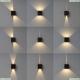 7438 Настенный уличный светильник Mantra (Мантра), Davos