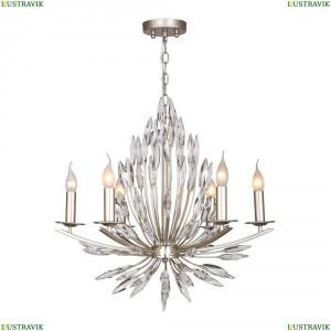 1932-6P Подвесная люстра Favourite (Фаворит), Feerie Silver