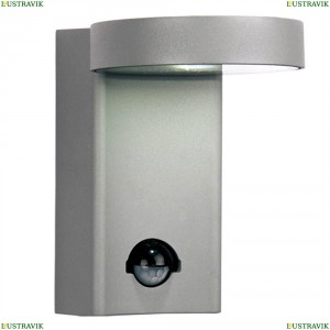 1827-1W Уличный настенный светодиодный светильник Favourite (Фаворит), Flicker Silver