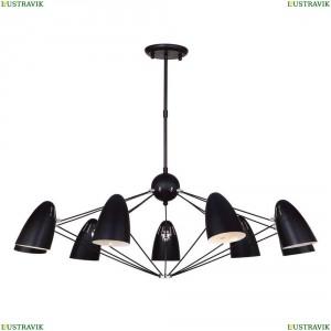 1757-9P Подвесная люстра Favourite (Фаворит), Humpen Black