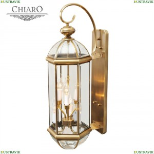 802020606 Уличный настенный светильник Chiaro (Чиаро), Мидос
