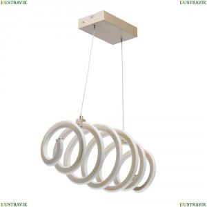 496018501 Подвесной светодиодный светильник De Markt (Демаркт), Аурих Золото