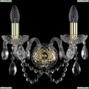 1400/2/G Хрустальное бра Bohemia Ivele Crystal (Богемия)