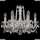 1402/6/160/G Хрустальная подвесная люстра Bohemia Ivele Crystal (Богемия)