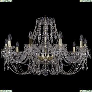 1406/10/300 Хрустальная подвесная люстра Bohemia Ivele Crystal (Богемия)