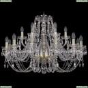 1406/12+6/300/G Хрустальная подвесная люстра Bohemia Ivele Crystal (Богемия)
