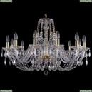1406/12/300/G Хрустальная подвесная люстра Bohemia Ivele Crystal (Богемия)