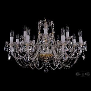 Хрустальная подвесная люстра IVELE Bohemia Crystal (Чехия) 1406.8+4.300