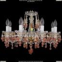 1410/8/195/G/V7010 Хрустальная подвесная люстра Bohemia Ivele Crystal (Богемия)