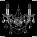 1411B/2/141/Ni Хрустальное бра Bohemia Ivele Crystal (Богемия)