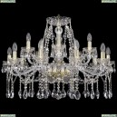 1413/10+5/300 Хрустальная подвесная люстра Bohemia Ivele Crystal (Богемия)