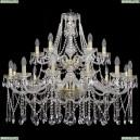 1413/12+6/360/2d/G Хрустальная подвесная люстра Bohemia Ivele Crystal (Богемия)