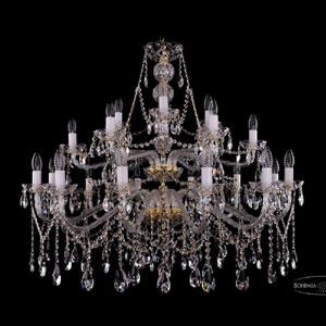 Хрустальная подвесная люстра IVELE Bohemia Crystal (Чехия) 1413.21.400.87