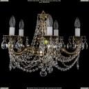 1702/5/CK175IV/C/GB Хрустальная подвесная люстра Bohemia Ivele Crystal (Богемия)