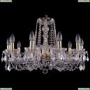 1402/10/240/G/Leafs Хрустальная подвесная люстра Bohemia Ivele Crystal