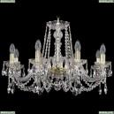 1402/8/240/G Хрустальная подвесная люстра Bohemia Ivele Crystal (Богемия)