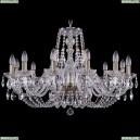 1406/12/300/Pa Хрустальная подвесная люстра Bohemia Ivele Crystal (Богемия)