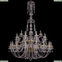 1406/16+8+4/400/XL-160/2d/G Хрустальная подвесная люстра Bohemia Ivele Crystal (Богемия)