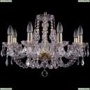 1406/8/195/G/Leafs Хрустальная подвесная люстра Bohemia Ivele Crystal (Богемия)