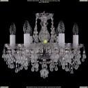 1410/6/141/Ni/V0300 Хрустальная подвесная люстра Bohemia Ivele Crystal (Богемия)