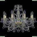 1411/8/195/G/Balls Хрустальная подвесная люстра Bohemia Ivele Crystal (Богемия)