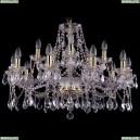 1413/10+5/300/L Хрустальная подвесная люстра Bohemia Ivele Crystal (Богемия)