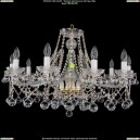 1413/10/300/G/Balls Хрустальная подвесная люстра Bohemia Ivele Crystal (Богемия)
