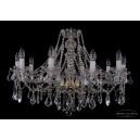 1413/10/300/G/Leafs Хрустальная подвесная люстра Bohemia Ivele Crystal (Богемия)