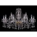 1413/12+6/360/L Хрустальная подвесная люстра Bohemia Ivele Crystal (Богемия)