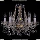 1413/6/165/G/Balls Хрустальная подвесная люстра Bohemia Ivele Crystal (Богемия)