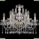 1413/6+3/200/G Хрустальная подвесная люстра Bohemia Ivele Crystal (Богемия)