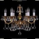 1701/6/181/A/G/Balls Хрустальная подвесная люстра Bohemia Ivele Crystal (Богемия)