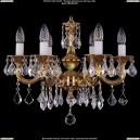 1701/6/181/A/G/Leafs Хрустальная подвесная люстра Bohemia Ivele Crystal (Богемия)