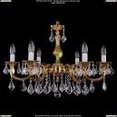 1702/6/A/G/Leafs Хрустальная подвесная люстра Bohemia Ivele Crystal (Богемия)