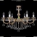 1702/6/250/B/GW/Balls Хрустальная подвесная люстра Bohemia Ivele Crystal