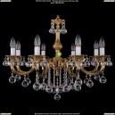 1702/8/B/G/Balls Хрустальная подвесная люстра Bohemia Ivele Crystal (Богемия)