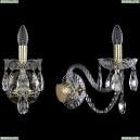 1400/1/Big/G Хрустальное бра Bohemia Ivele Crystal (Богемия)
