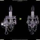1402B/1/195/XL/Ni/Leafs Хрустальное бра Bohemia Ivele Crystal