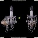 1402B/1/195/XL/Pa/Leafs Хрустальное бра Bohemia Ivele Crystal