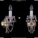1402B/1/141/G/Balls Хрустальное бра Bohemia Ivele Crystal