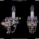 1400/1/Pa/Balls Хрустальное бра Bohemia Ivele Crystal (Богемия)