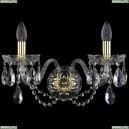 1400/2/Big/G Хрустальное бра Bohemia Ivele Crystal (Богемия)