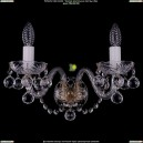 1402B/2/195/XL/Pa/Balls Хрустальное бра Bohemia Ivele Crystal