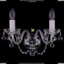 1400/2/Ni/Balls Хрустальное бра Bohemia Ivele Crystal (Богемия)