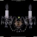 1400/2/Pa Хрустальное бра Bohemia Ivele Crystal (Богемия)