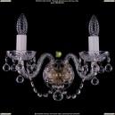 1400/2/Pa/Balls Хрустальное бра Bohemia Ivele Crystal (Богемия)