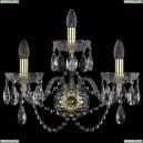 1400/3/Big/G Хрустальное бра Bohemia Ivele Crystal (Богемия)