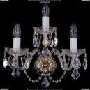 1402B/2+1/195/XL/G/Leafs Хрустальное бра Bohemia Ivele Crystal