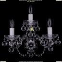 1402B/2+1/195/XL/Ni/Balls Хрустальное бра Bohemia Ivele Crystal